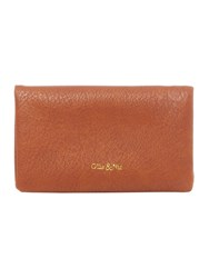 Ollie And Nic Rosa Small Ziparound Purse Tan