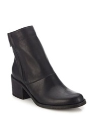 Ld Tuttle The Cave Leather Side Zip Boots Black Brine