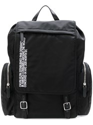 Calvin Klein 205W39nyc Logo Backpack Black