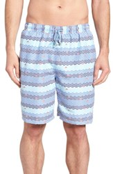 Peter Millar Sail Away Swim Trunks Ceramic
