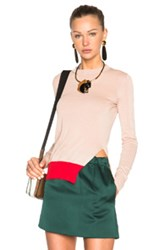 Marni Crew Neck Sweater In Pink
