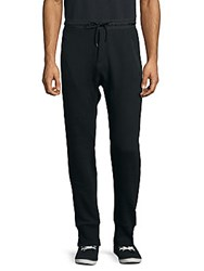 The Kooples Ribbed Cuff Jogger Pants Black