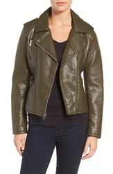 Rachel By Rachel Roy Women's Faux Leather Moto Jacket