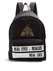 Givenchy Real Lies Print Backpack Black Multi