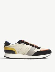 The Kooples Leather Running Trainers Mul04