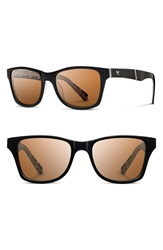 Shwood 'Canby Pendleton' 54Mm Polarized Sunglasses Black Rancho Arroyo Brown