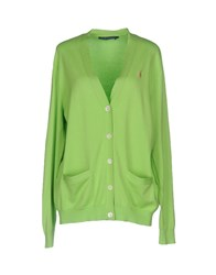 Ralph Lauren Cardigans Acid Green