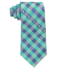Eagles Wings Seattle Mariners Checked Tie Team Color