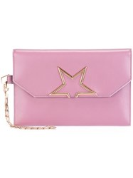 Golden Goose Deluxe Brand 'Vedette Star' Clutch Pink And Purple