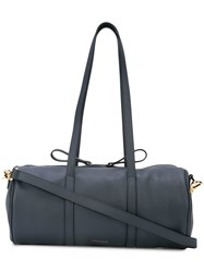 Mansur Gavriel Mini Duffle Bag Blue