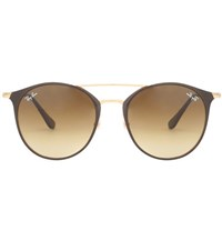 Ray Ban Rb3546 Round Sunglasses Brown