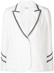 Zadig And Voltaire Victor Jacket White
