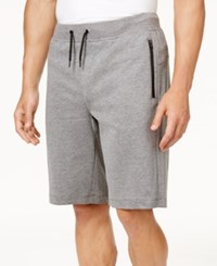 Ideology Id Men's Sweat Shorts Only At Macy's Grey Heather
