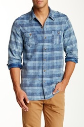 Artisan De Luxe Silas Plaid Long Sleeve Shirt Blue