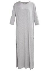 Noisy May Nmabia Jersey Dress Light Grey Melange Mottled Light Grey