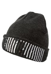 Evenandodd Hat Dark Grey