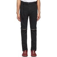 Sacai Black Belted Jeans