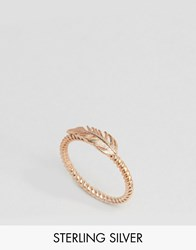 Pieces And Julie Sandlau Rose Gold Plated Jill Ring Rose Gold