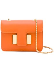 Tom Ford Sienna Shoulder Bag Women Calf Leather One Size Yellow Orange