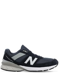 Junya Watanabe New Balance Suede M990 V51 Sneakers Navy