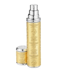 Creed Gold Leather Atomizer With Silver Trim 10 Ml