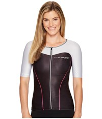 Louis Garneau Course Vector Tri Jersey Black Multicolor Women's Clothing