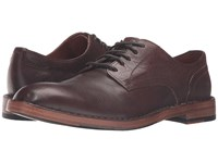 Frye Mark Oxford Dark Brown Tumbled Full Grain Men's Lace Up Casual Shoes