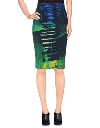 Laurel Knee Length Skirts Dark Blue