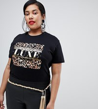 Asos Design Curve Twisted Chain And Tassel Belt Gold