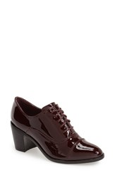 Steve Madden 'Jelan' Oxford Pump Women Wine Patent