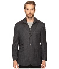 Kroon Ritchie Hybrid Coat Grey Men's Coat Gray