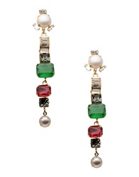 Emilio Pucci Earrings Green