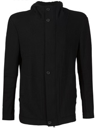 Forme D'expression Buttoned Roll Neck Cardigan Black