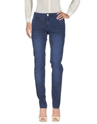 Trussardi Jeans Trousers Casual Trousers Blue