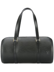 Louis Vuitton Vintage Soufflot Rolled Shoulder Bag Black