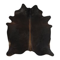 Amara Natural Cowhide Rug Dark