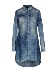 Meltin Pot Denim Shirts Blue