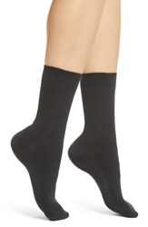 Richer Poorer Nightingale Crew Socks Charcoal