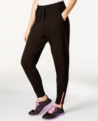 Jessica Simpson The Warm Up Jogger Pants Only At Macy's Black