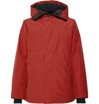 Canada Goose Garibaldi Arctic Tech Hooded Down Parka With Removable Vereflex 15D Gilet Red