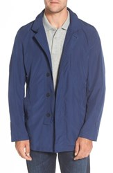 Sanyo Men's Packable Rain Coat Royal Blue