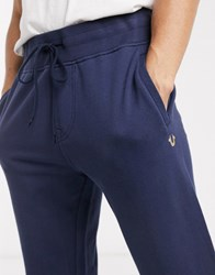 True Religion Solid Joggers Blue