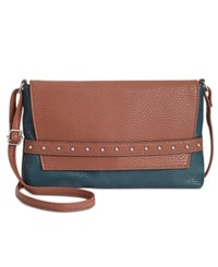 Styleandco. Style Co. Shaunee Flap Crossbody Only At Macy's Luggage Storm