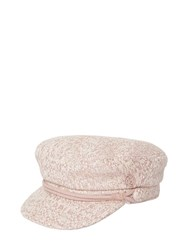 Maison Michel New Abby Tweed Hat Pink