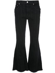 Thierry Mugler Cropped Flared Jeans 60