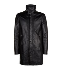Yves Salomon Leather Trench Coat Male