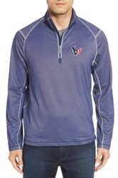 Tommy Bahama 'Nfl Double Eagle' Quarter Zip Pullover Blue