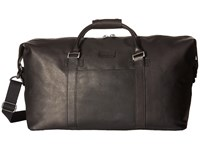 Kenneth Cole Reaction Colombian Leather I Beg To Duffel Black Duffel Bags
