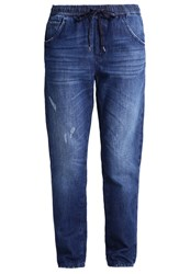 Sisley Relaxed Fit Jeans Denim Blue Blue Denim