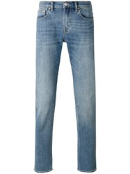 Paul Smith Ps By Faded Straight Leg Jeans Blue